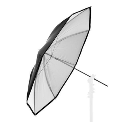 "Studio paraguas reflex paraguas negro/blanco Ø 84 cm/33"""