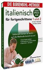 Birkenbihl-Italienisch Fortgeschrittene 1+2 Audio-Kurs 4CD+Book Neu+in Folie(L2)