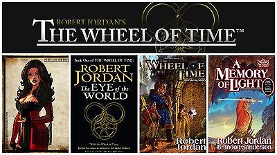 15 audiobooks - The Wheel of Time Complete Series by Robert Jordan { Mp3 DVD} aa