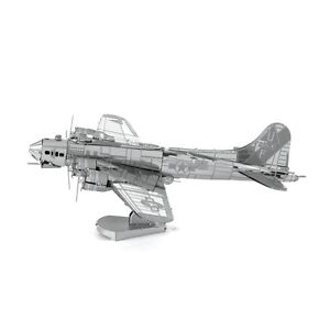 Metal-Earth-B-17-Flying-Fortress-3D-Laser-Cut-Metal-DIY-Model-Hobby-Build-Kit