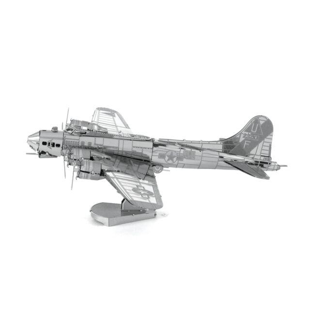 Metal Earth B-17 Flying Fortress 3D Laser Cut Metal DIY Model Hobby Build Kit