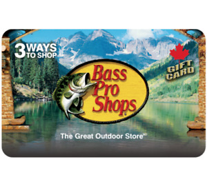 Bass Pro Shops® Gift Card $25, $50, or $100 - Email Delivery