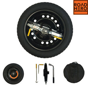 space saver spare wheel tyre jack roadhero for nissan juke 10 16 ebay. Black Bedroom Furniture Sets. Home Design Ideas