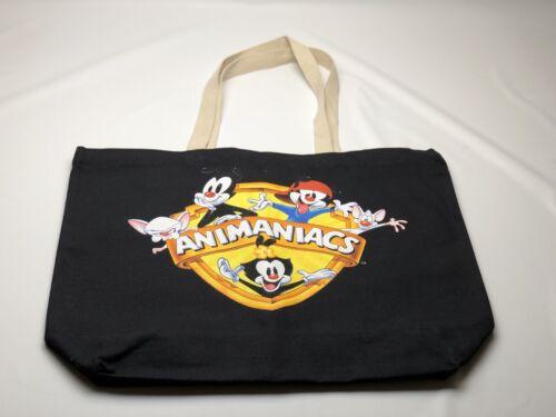 The Hundreds x Animaniacs Shield Tote Bag L17W207009 Black Collaboration 2017