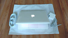 "Apple MacBook White 13"" a1342, 500GB HDD 2.26 GHz 4GB RAM LATEST OS. + Extras"