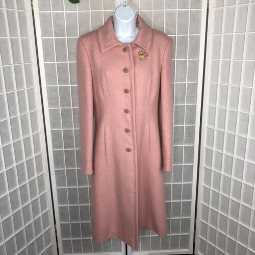 Blumarine Women Long Wool Coat
