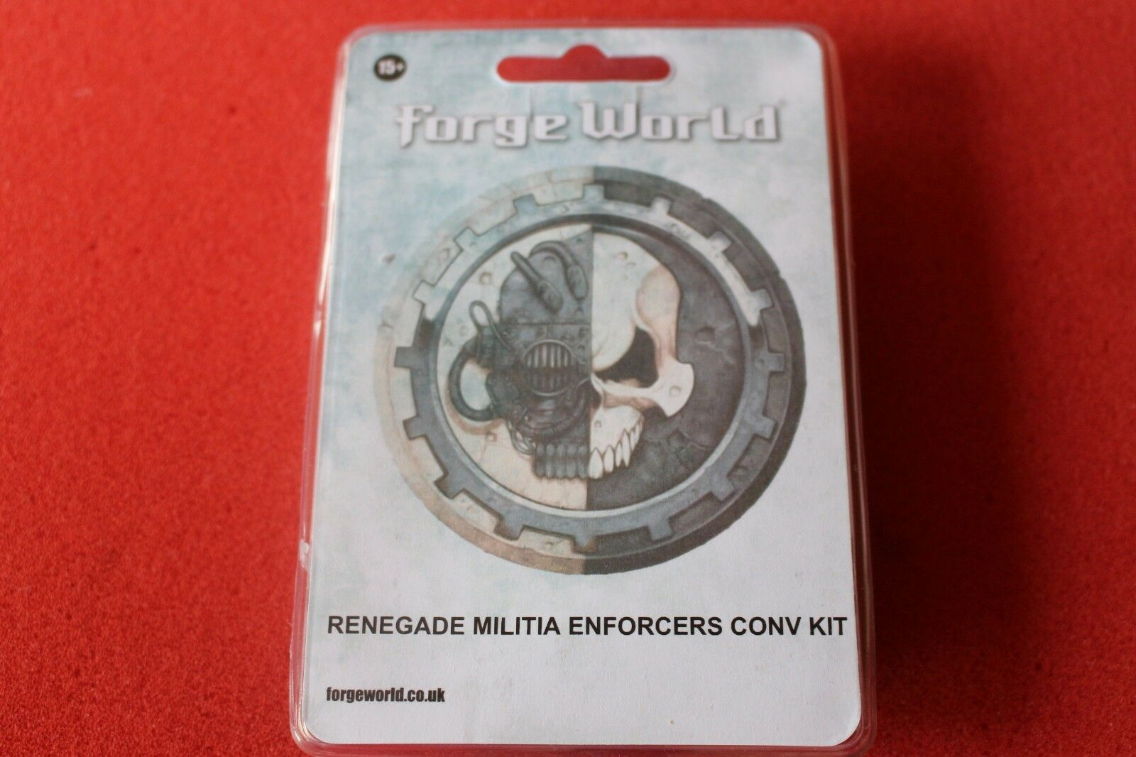 Games Workshop WH40k FORGEWORLD Caos RENEGADE MILIZIA ENFORCERS Kit Di Conversione