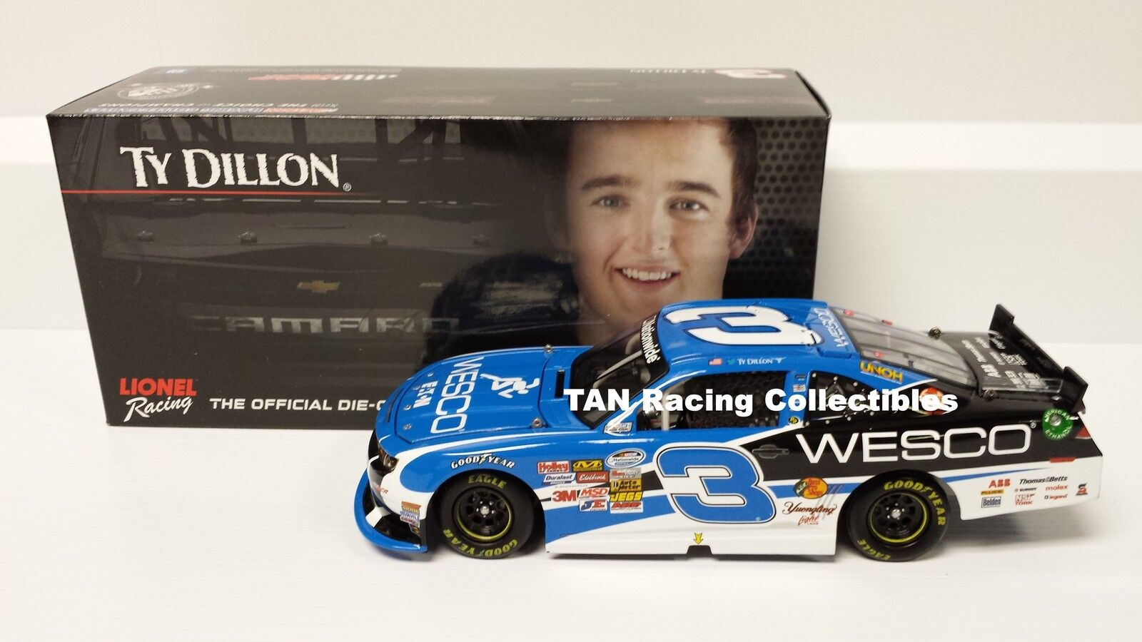 Ty Dillon 2014 Lionel Action Wesco Chevy Camaro 1 24 FREE SHIP