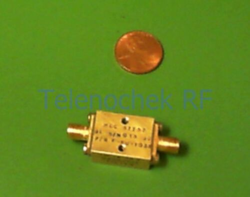 24.6 GHz 20dB reject data RF IF microwave low pass LPF filter 19.7 GHz 1dB