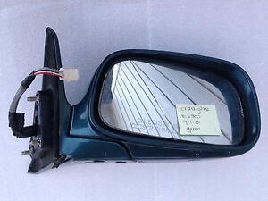 Lexus Es300 Passenger Side Door Mirror Oem Green 1997 2001 Ebay