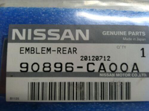 "OEM NISSAN MURANO 2010-2012 REAR HATCH EMBLEM /""SL AWD/"" BADGE"