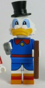 NEW Uncle Scrooge McDuck Duck Tales Disney Series 2 LEGO Minifigure