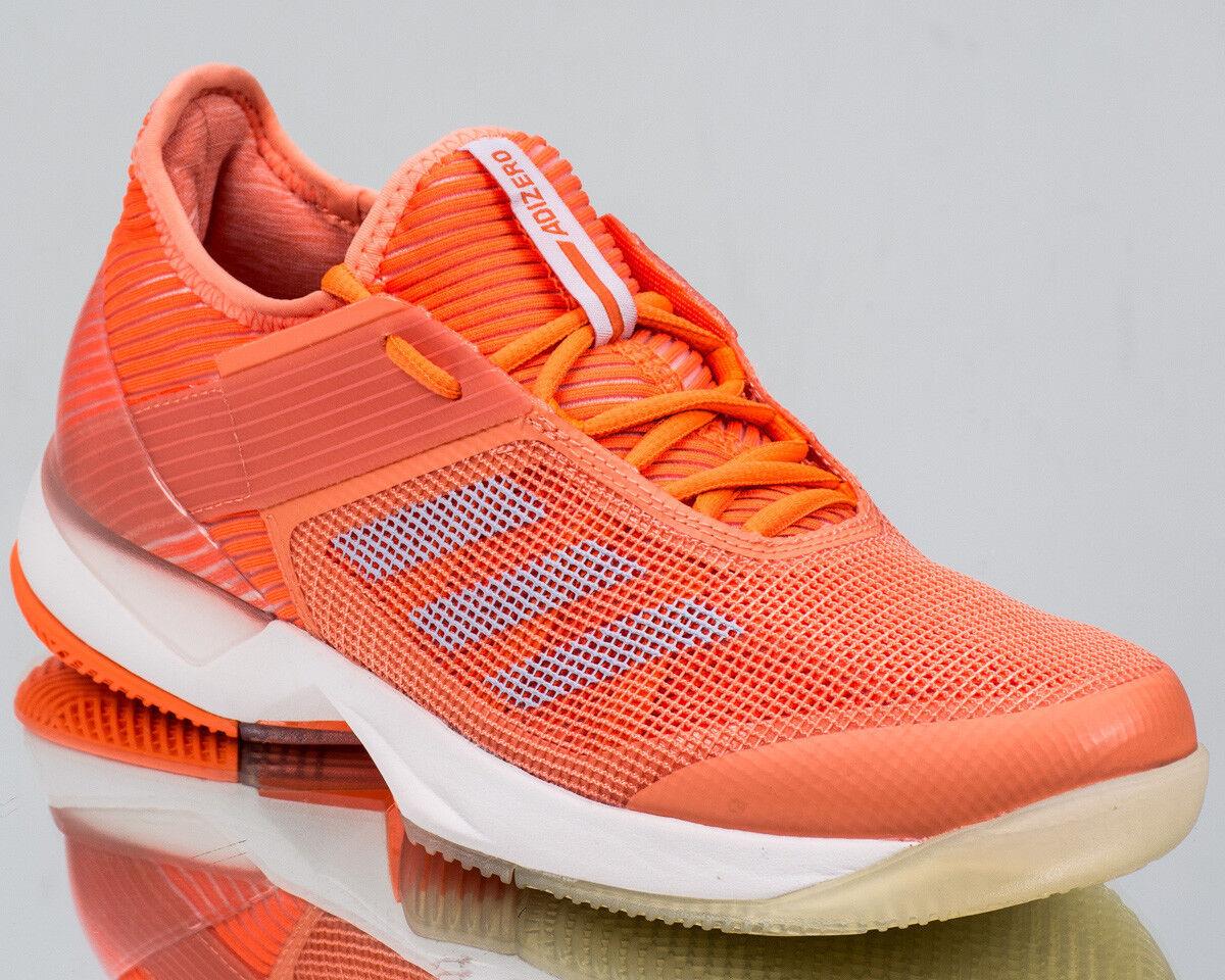 adidas Wmns adizero Ubersonic 3 womens tennis shoes NEW orange white CM7751