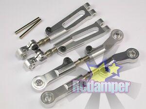 ALUMINUM FRONT /& REAR UPPER ARM S KYOSHO 1//8 INFERNO MP9 MP9e TKI3 TKI2 ALLOY
