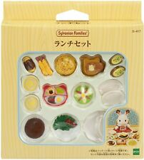 genuine Sylvanian families Lunch Set Japanese ver