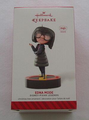 Hallmark 2014 Disney Pixar Legends #4 Series Edna Mode Magic Keepsake Ornament