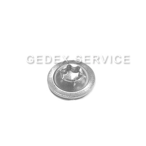 Flanschschrauben TORX ISO 7380-2 M3 M4 M5 M6 M8 Länge 4-80mm EDELSTAHL A2