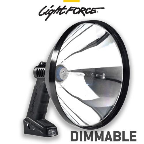 Lightforce Spotlight HANDHELD 240MM ENFORCER Regulable Caza Tiro-Cig Plug