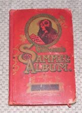 Gartmann´s Sammel-Album mit Sammelbilder Kakao und Schokoladenfabrik Altona 1901