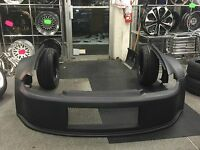 92-95 Civic 2/3dr Wide 3 Piece Drag Racing Front End Bumper Fenders Sfwd Open