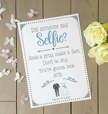 40th Birthday party Poster Selfie Station Birthday Personalised Table Sign