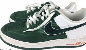 Details about Nike Air Force 1 Low Men's Size 11.5 Irish Varsity Green  Orange 488298-305
