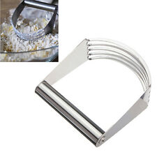 Stainless Steel Dough Pastry Blender Cutter Mixer Blade Pies Biscuit  Maker Tool