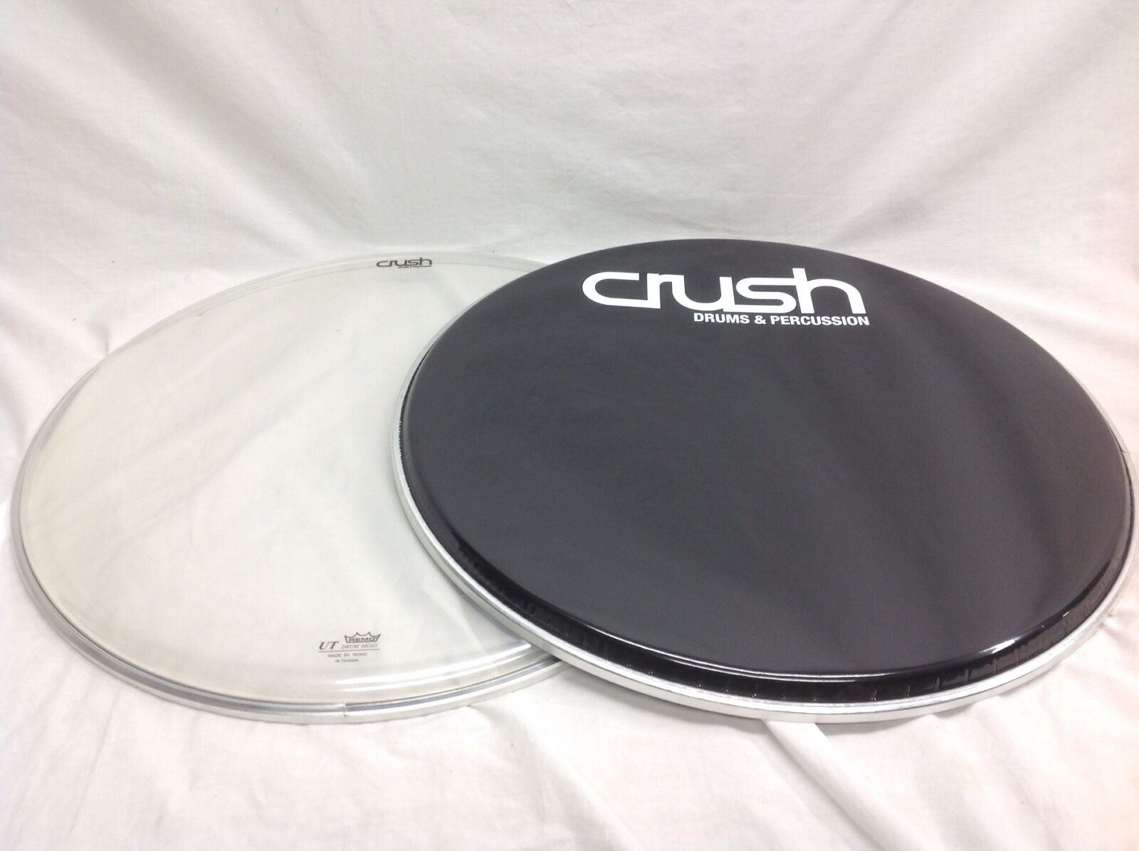 Crush Drums 20  Diameter Bass Drum Head Includes Batter & Reso Sides Brand New