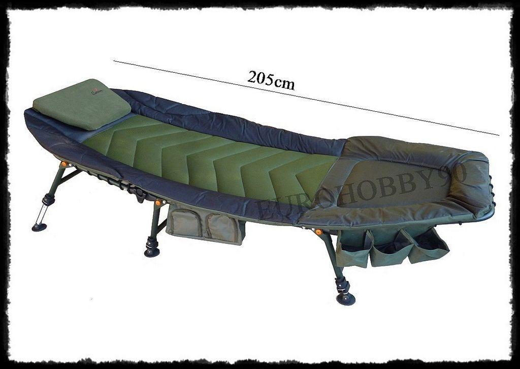 Lettino imbottito ergonomico da pesca carpfishing siluro surfcasting sedia