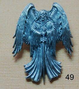 Dark Angel Todesengel Dunkler Engel Mystik Skull Gothik Pin Button Stecker # 49 Warmes Lob Von Kunden Zu Gewinnen Sammeln & Seltenes