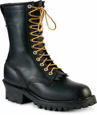 Black Size 75d Plain Toe Whites Boots Hathorn Explorer Nfpa Logger Boot