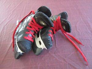 Boy's Hockey Skates Hospeler GPS 350 Junior Size 13J Guards