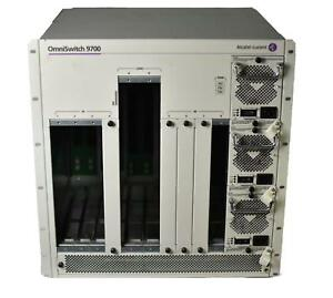 Alcatel-OmniSwitch-9700-Switch-8-Slot-Chassis-OS9700-with-3x-725W-Power-Supplies