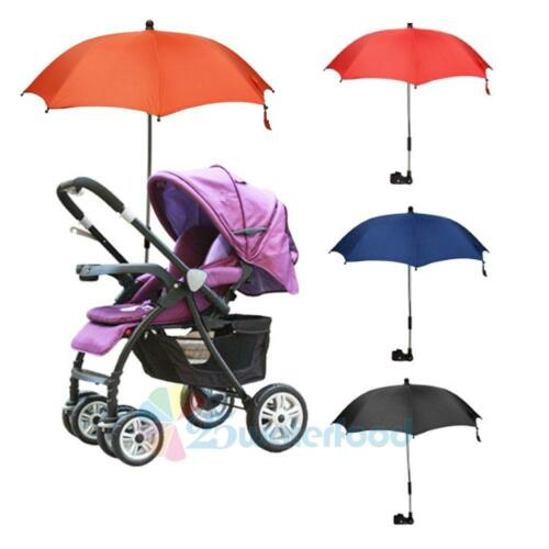 Baby Stroller Wheelchair Pushchair Umbrella Sun Shade Parasol Rain Canopy Cover