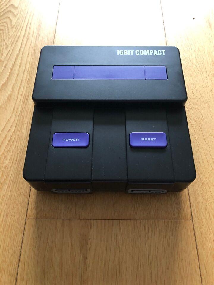 Nintendo Super Nintendo, 16Bit Compact, God