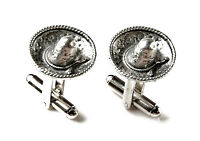 Sombrero Cufflinks - Gifts For Men - Anniversary Gift - Handmade - Gift Box