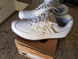 9 Femme En Chaussures Uk New 43 Balance Originals D574 Cuir Blanc Eu p8waqx