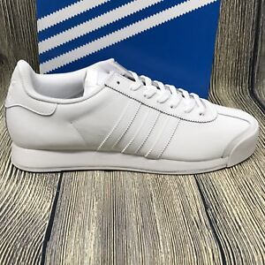 sports shoes 65320 893c8 Image is loading adidas-Originals-Mens-Shoes-Samoa-Fashion-Sneakers-White-