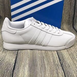 sports shoes 3aeb4 34412 Image is loading adidas-Originals-Mens-Shoes-Samoa-Fashion-Sneakers-White-