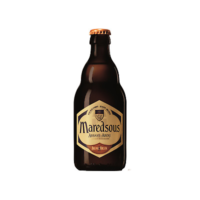 Maredsous Brune case of 24 Sparkling Beer Ale 330mL