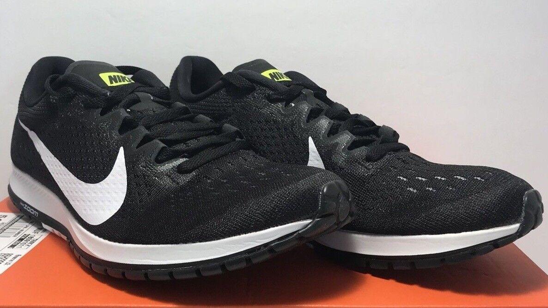 Nike mens größe 7,5 zoom ader 6 vi schwarz schwarz schwarz - weiß - ausbildung laufschuhe sneaker a5a76b