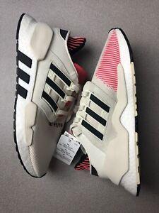 Details about Adidas Originals EQT Support 91/18 Off-White/Black/Shock Red CM8648 Size 7.5