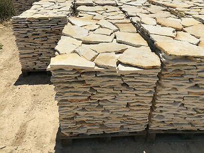 Italia Weiß 10㎡ 1-2cm Terrassenplatten Polygonalplatten Naturstein Kalkstein