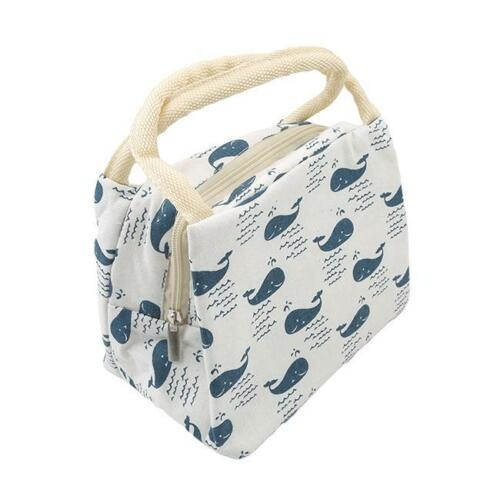 Thermal Insulated Portable Lunch Box Tote Cooler Bag Durable Lunch Bag LT