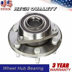 Front//Rear Wheel Bearing Hub Assembly Fit 2008-2017 Buick Enclave 2007-2016 GMC Acadia 2007-2010 Saturn Outlook Hub Bearing 6 Lug-513277 2017 GMC Acadia Limited 2009-2017 Chevrolet Traverse