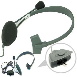White-Slim-Headset-Headphone-With-Noise-Canceling-Microphone-for-Xbox-360-Live