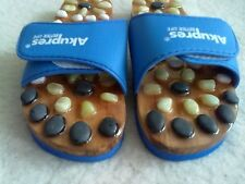 ACUPRESSURE WITH STONES SLIMMING MASSAGE SHOES SLIPPERS AKUPRES BETTER LIFE