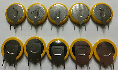 x10 Sega Dremcast Console Memory Battery CMOS Backup (LIR2032 Rechargeable)