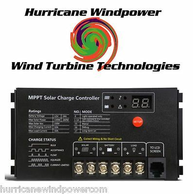 Hurricane MPPT Solar Charge Controller 10 Amp 12/24 Volt