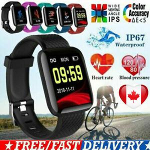 116 Plus Bluetooth Smart часы сердечный ритм кислород кровяное давление Фитнес трекер